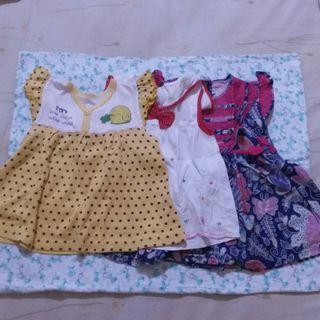 🌸 Paket Dress Bayi 6-12Bulan 🌸