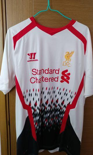 [BB來了清屋蝕讓] 利物浦 Liverpool 2013-14 作客球衣