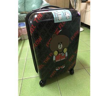全新 LINE FRIENDS 熊大 ABS 20吋行李箱 登機箱 手提箱 旅行箱