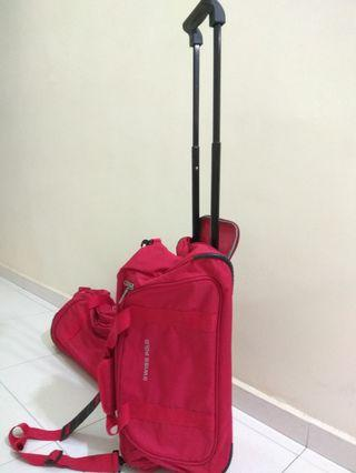 Swiss polo handcarry/sling/pull