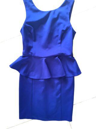 Topshop midnight blue dress UK Size12