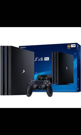 🚚 PS4 Pro 1TB