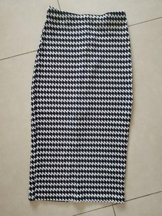 Sexy pencil skirt