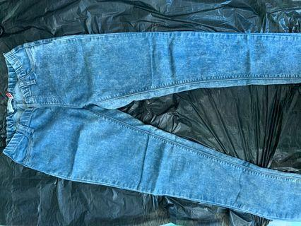 STRETCHY WAISTED JEANS