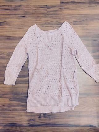 Rose American Eagle Outfitters Sweater Blouse