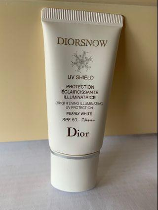 Dior 亮白防曬 sunscreen spf 50