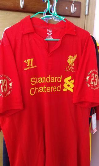 [BB來了清屋蝕讓] 利物浦 Liverpool 加歷查紀念版 2012-13 主場球衣