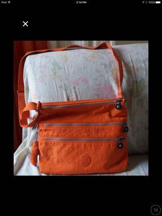 Authentic kippling sling bag