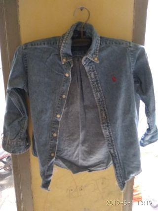 Kemeja jeans anak keren Ralph Lauren