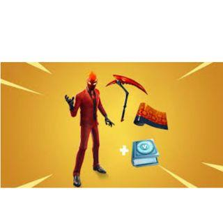 🚀 Fortnite Inferno Challenge Pack 🚀 [5 MINS DELIVERY]
