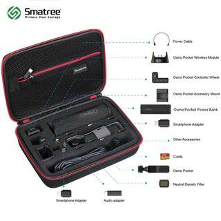 🚚 SMATREE Carrying Case SmaCase D180 Storage Box Carry Bag for DJI OSMO POCKET