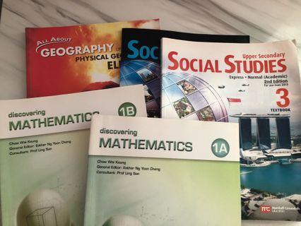 🚚 Secondary textbooks express