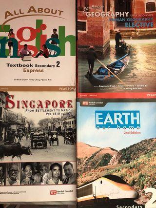 🚚 Secondary express textbooks