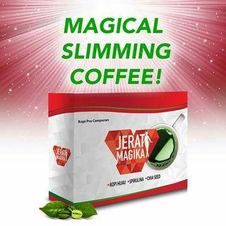 JERAT MAGIKA GREEN COFFEE
