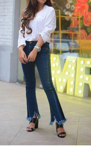 Jeans cutbray