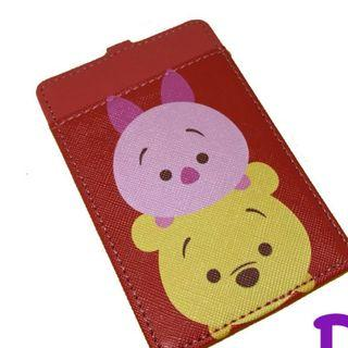 tsum tsum piglet and winnie the pooh cardholder