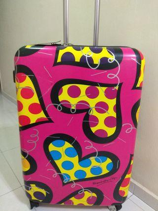 "🚚 28"" Britto designer luggage"