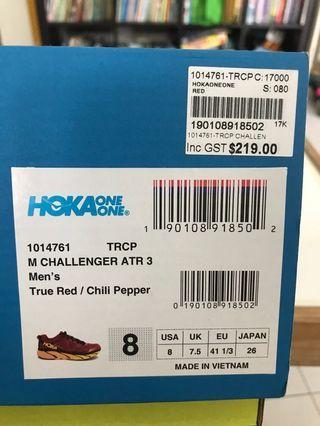 Hoka one running shoes