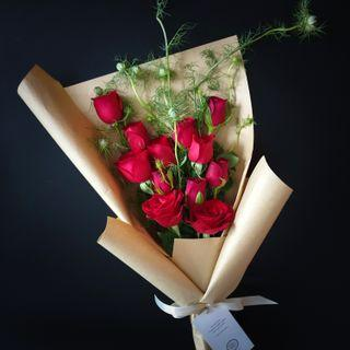 Roses and Seasonal Blooms bouquet