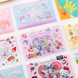 Little Twin Stars and Hello Kitty stickers for planner diary schedule