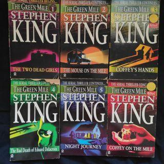 The Green Mile Series by Stephen King