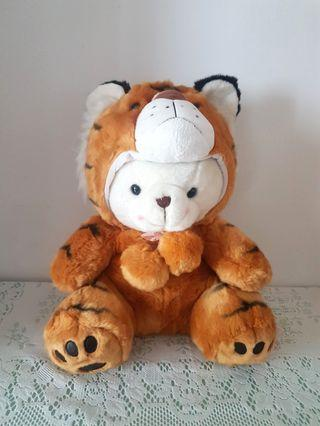 Teddy Bear With Tiger Costume.