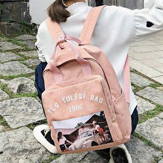 🚚 (預購單 pre-order) ❤佳比雜貨❤  韓版潮牌街頭古著個性後背包