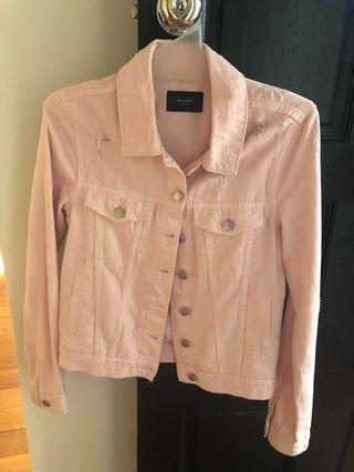 DECJUBA Pink Denim Jacket