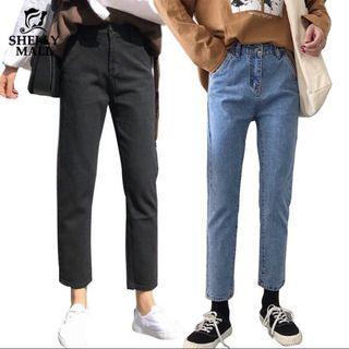 🚚 ✨新品現貨✨韓版顯瘦直筒牛仔褲 2色
