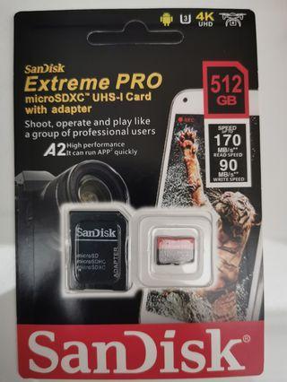 🚚 Price Reduce !! Mirco 512 SD card ! Exterme Fast writing Speed!