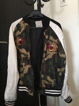 Bershka Sukajan Bomber Jacket
