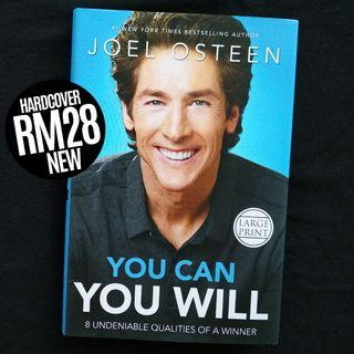 You Can You Will: 8 Undeniable Qualities of a Winner (Large Print, 2014) by Joel Osteen