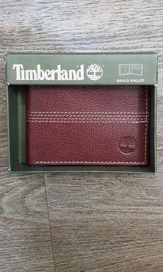 Timberland Men's Sportz Quad Slimfold Leather Wallet, with Gift Box