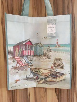 🚚 British Seashore Shopping Bag