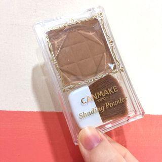🚚 Canmake 巧克力修容01色 陰影