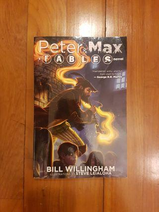 FABLES: PETER AND MAX by BILL WILLINGHAM [PAPERBACK]