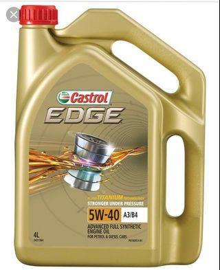 Castrol Edge 5W-40 A3/B4