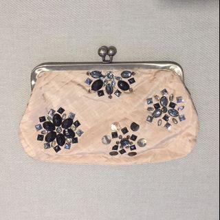 Accessorize Pink Clutch Bag