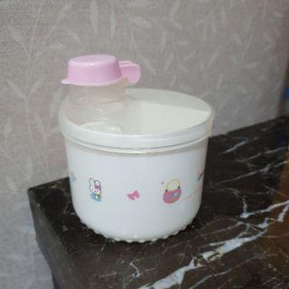 kitty 奶粉罐 3格 外出罐