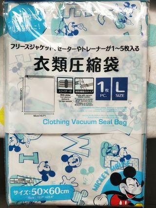 Mickey Mouse Clothing Vacuum Seal Bag