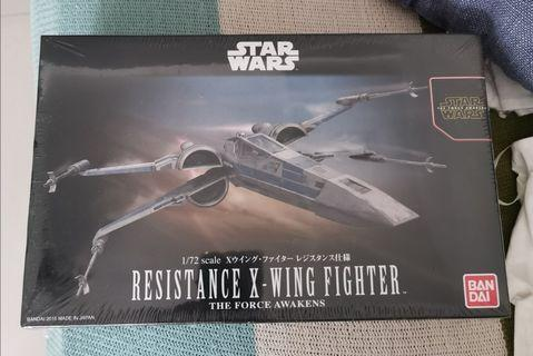1/72 Bandai Star Wars The Force Awakens Resistance X-Wing Fighter