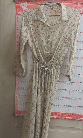 碎花罩衫&洋裝