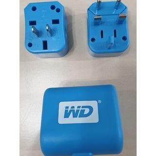 售 WD 出國萬用電源轉換接頭 附收納盒