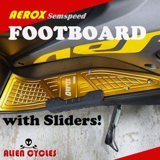 Aerox Semspeed Footboard