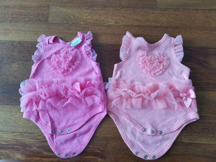 Baby frilly romper