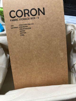Fabric storage box (small)