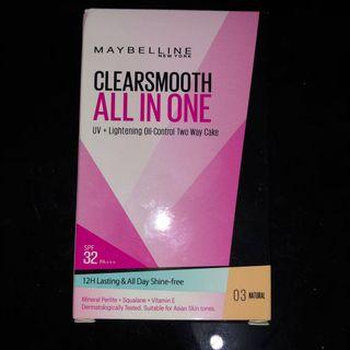 Maybelline Clearsmooth All in One Powder