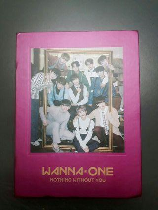 WANNA ONE NOTHING WITHOUT YOU ALBUM