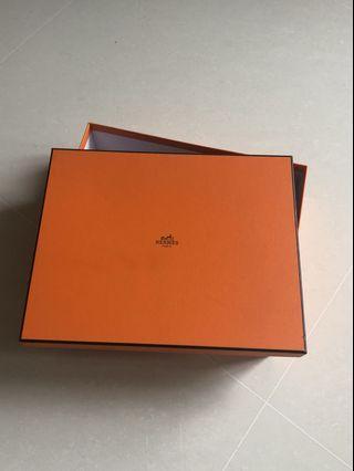 Hermes Oran shoe box