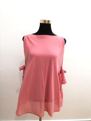 Whitesoot Pink flowy top #OYOHOTEL